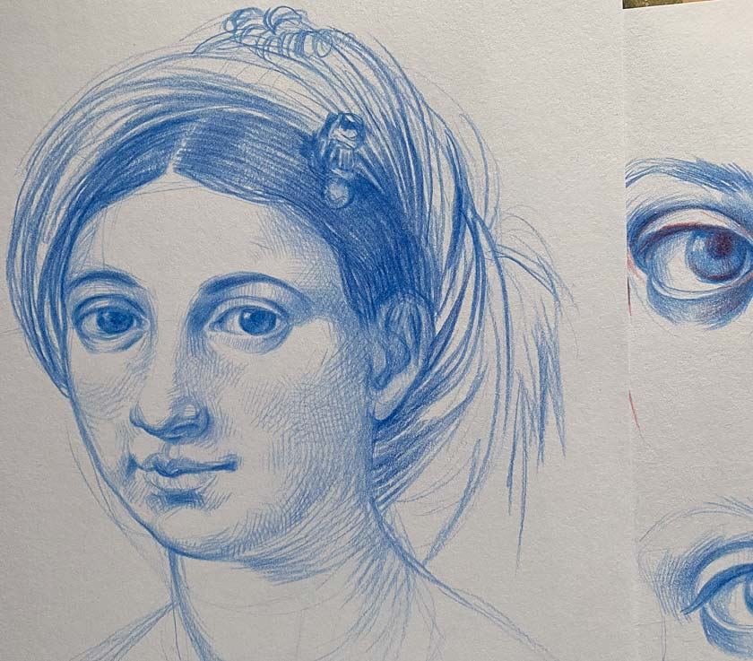 how to draw like old masters Natalie-Richy