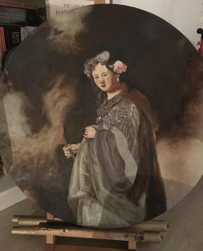 how to paint like old masters paintings Rembrandt