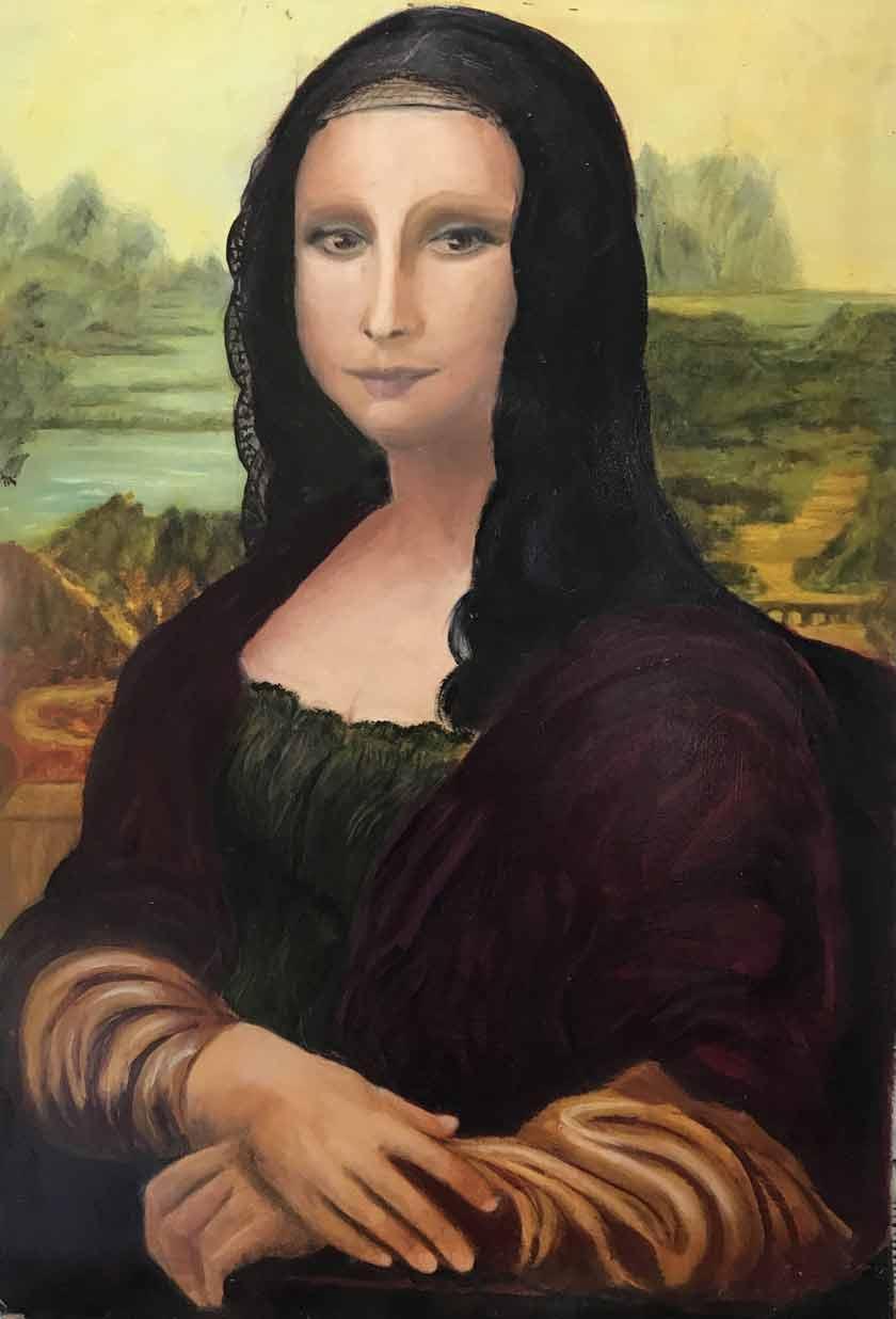 copy Mona Lisa need Old Masters Academy
