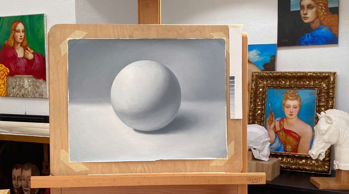 How to Paint Tonal Values in Oil