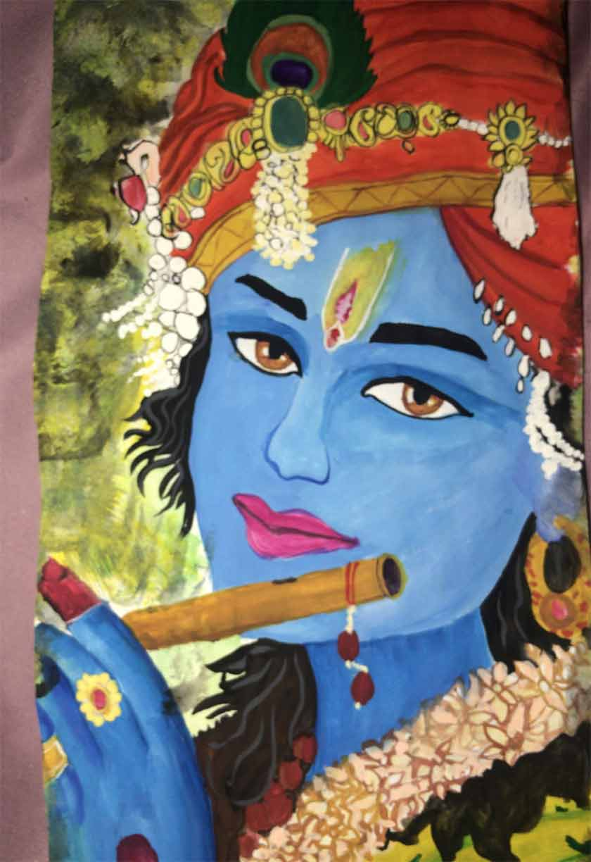 I love painting and it is a very big part of my life