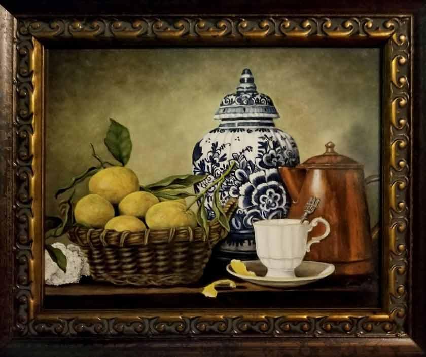painting using the Flemish technique