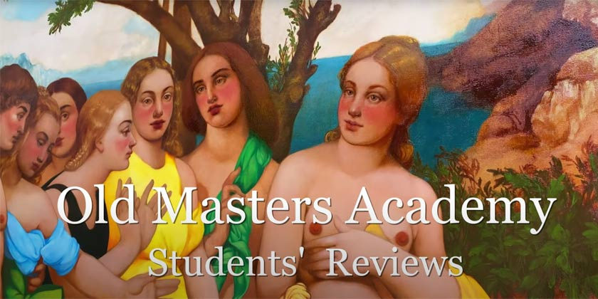 What Old Masters Academy students are saying